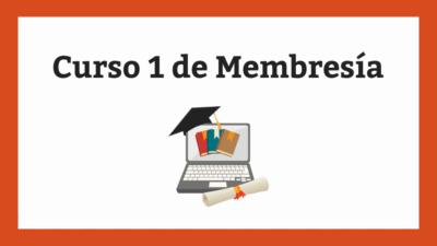Curso de prueba 1 - membresía